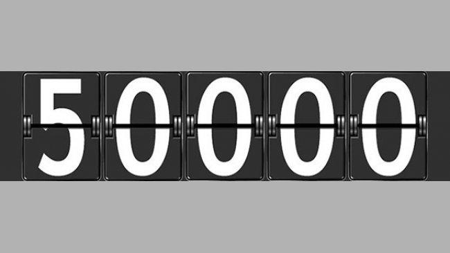 50000 registrierte Nutzer