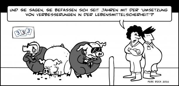 Lebensmittelsicherheit in der Schweinebranche