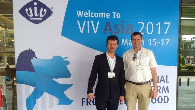VIV Asia 2017 - 333-Team auf der VIV Asia