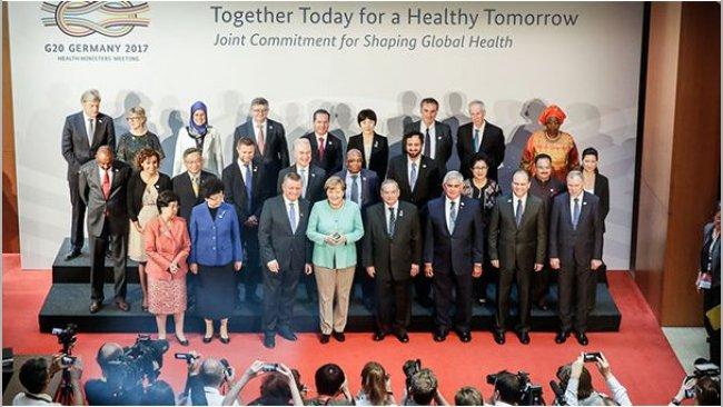 Gemeinsam die Welt vor Gesundheitsgefahren zu schützen ist ein wichtiges Anliegen des Treffens. Foto: Bundesregierung/Denzel