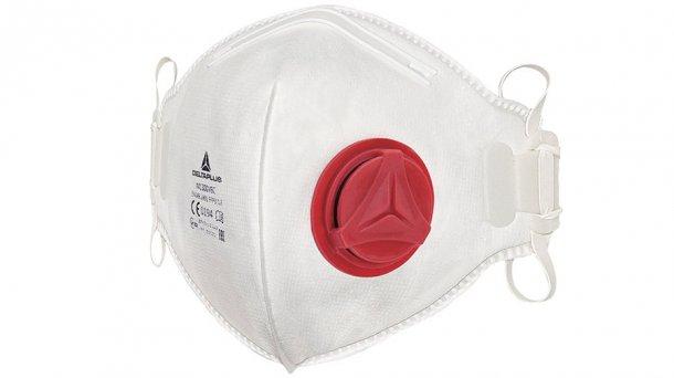 Ich empfehle als Mindestatemschutz eine gut sitzende Einweg-Atemschutzmaske mit zweiBefestigungsriemen.