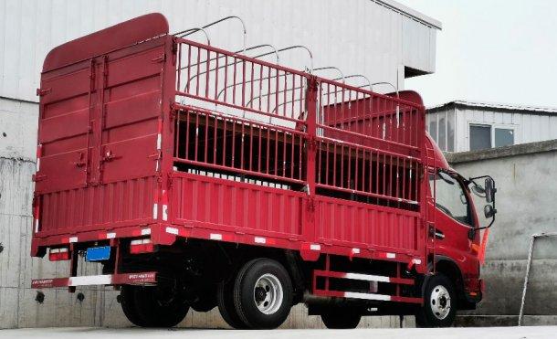 Bild 2: Interner Lkw für den Transport einer kleinen Anzahl an Tieren (Bild mit freundlicher Genehmigung der DanAg Group, China)