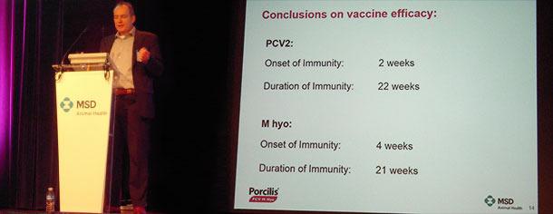 Heiko Nathues befasste sich in seinem Vortrag mit Micoplasma hyopneumoniae