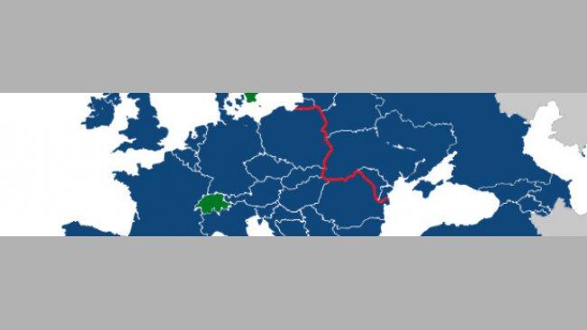 PRRSV-Diversität in Europa